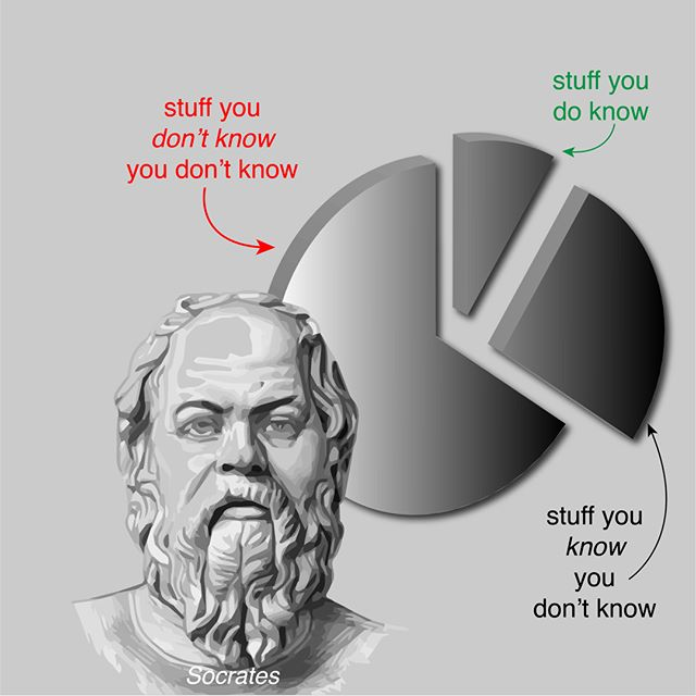 You don't know what you don't know…Socrates  #strategy #strategyinaction #disruption  #disruptionreadiness