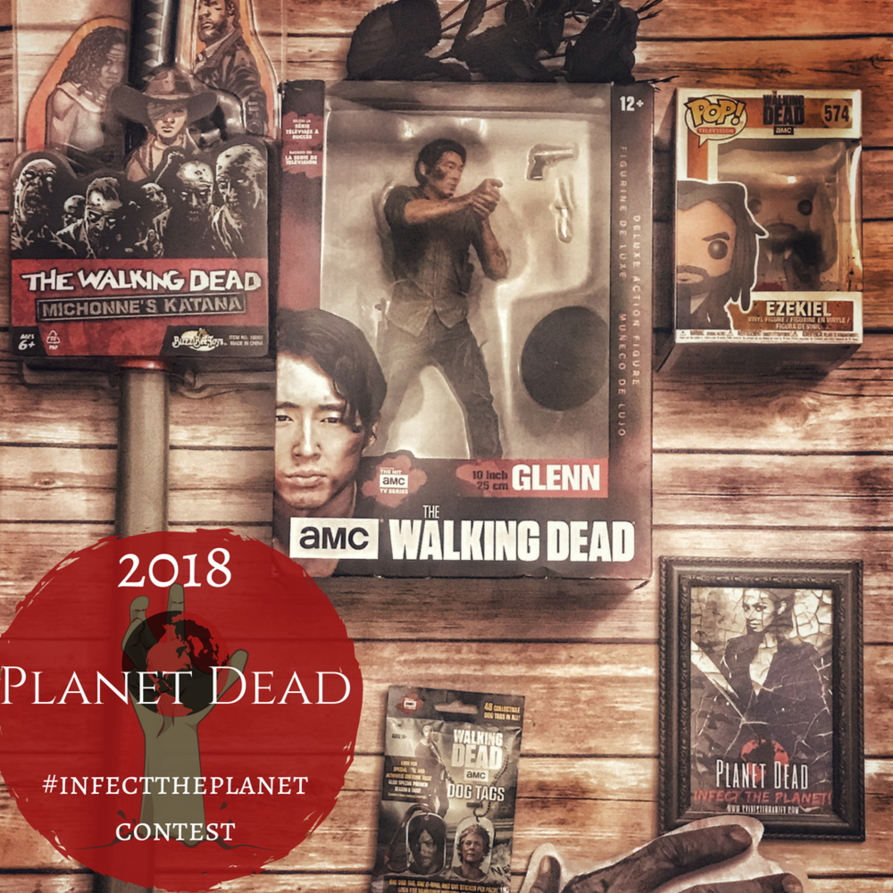 Last Chance To Win This Epic Walking Dead Prize Pack!   Click Here To Enter