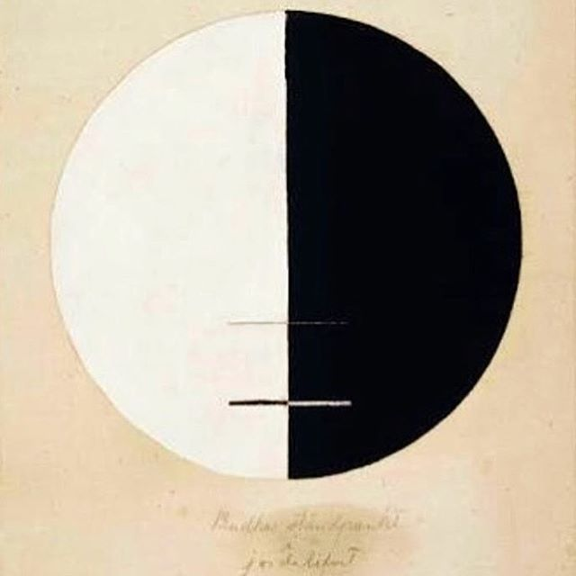 Hilma af Klint, Buddah's Standpoint in the Earthly Life, No.3a, 1920🖤