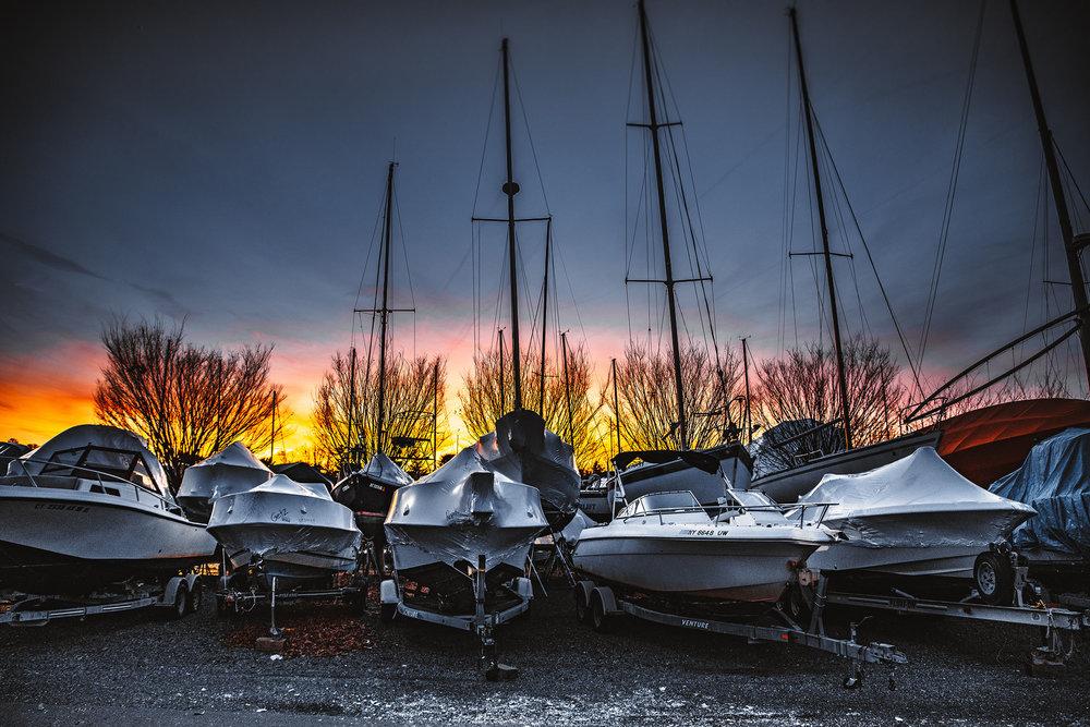 Boats Greenwich Sunset.jpg