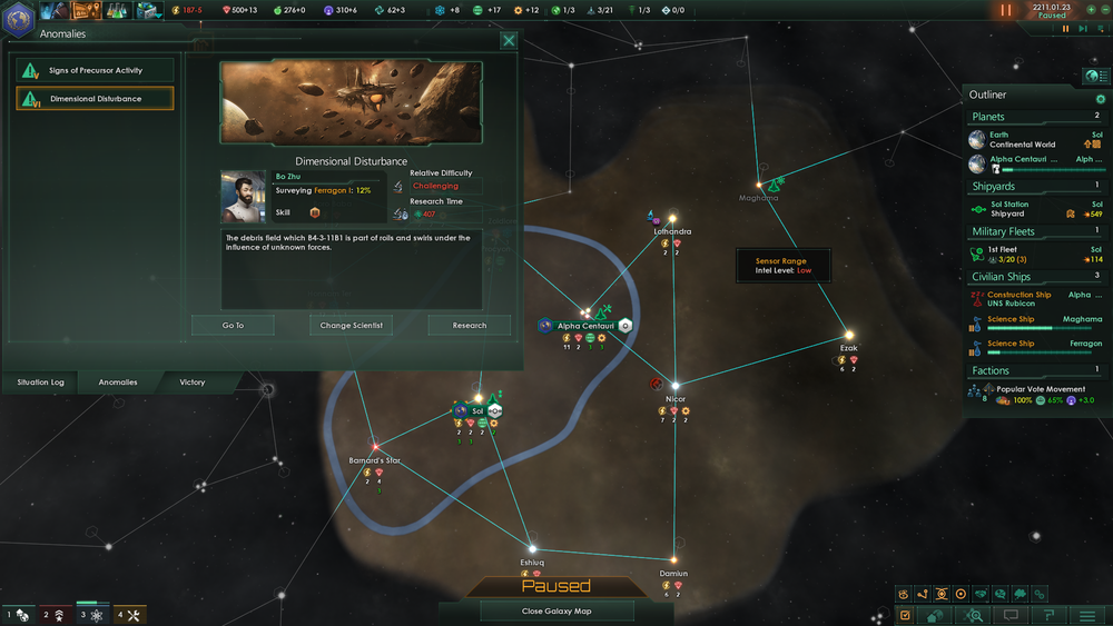 No more anomaly research failure risk? That's pretty balsy Paradox!