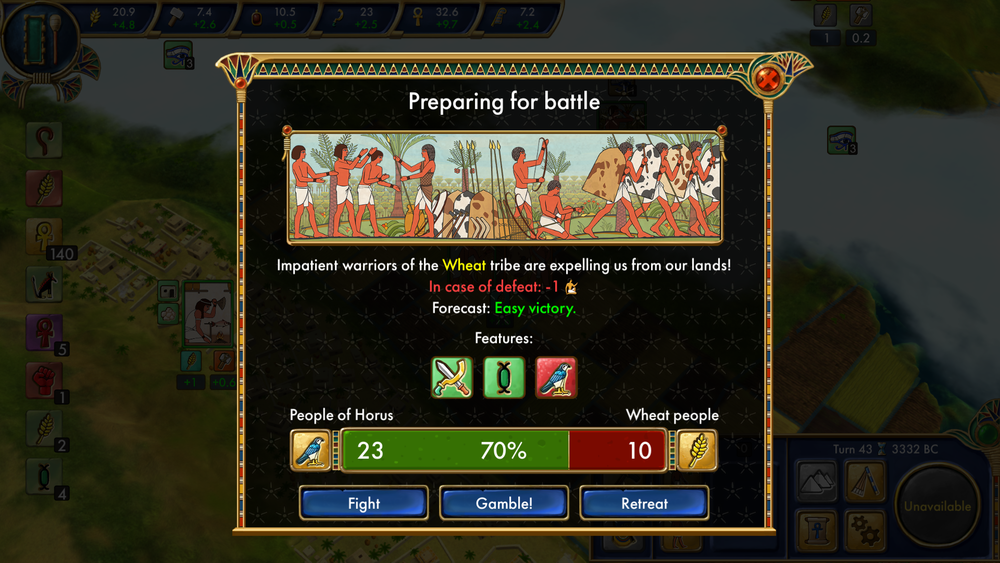 Battles are rather simplistic. Other than the three options you have during battle, it's a completely hands-off affair.