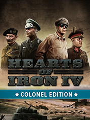 Hearts of Iron IV Colonel Edition -