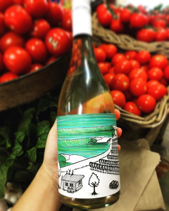 T A S T I N G Down the Coast Mornington Peninsula Pinot Gris is on pour in the Cellar today. Drop by for a taste of this neighbouring surf coast favourite by @stuart01proud 🏄‍♀️ 🌊
