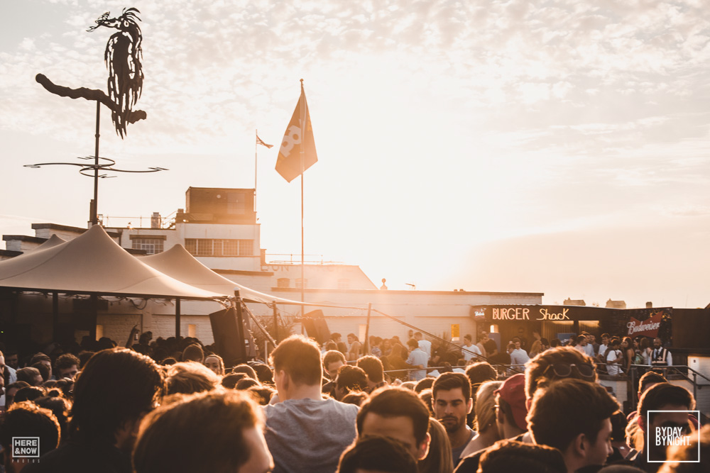 BY DAY BY NIGHT SUMMER TERRACE - PRINCE OF WALES - AUGUST 25TH 2018