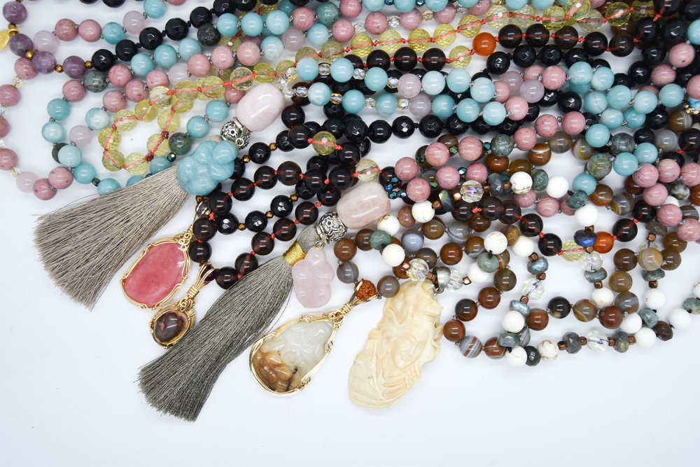 Aurora Facets meditation Malas in London