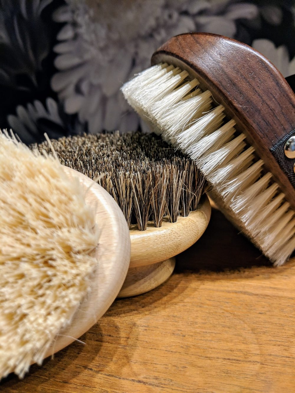 Dry skin brushes at Gazelli House South Kensington, London