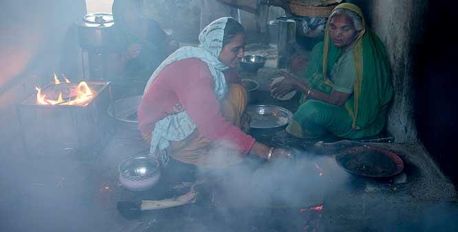 Indoor air pollution kills 3.8 million globally. -