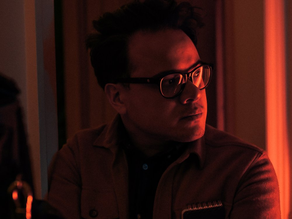 Tim Courtney, Director, on set Photo - Kevin J Thompson