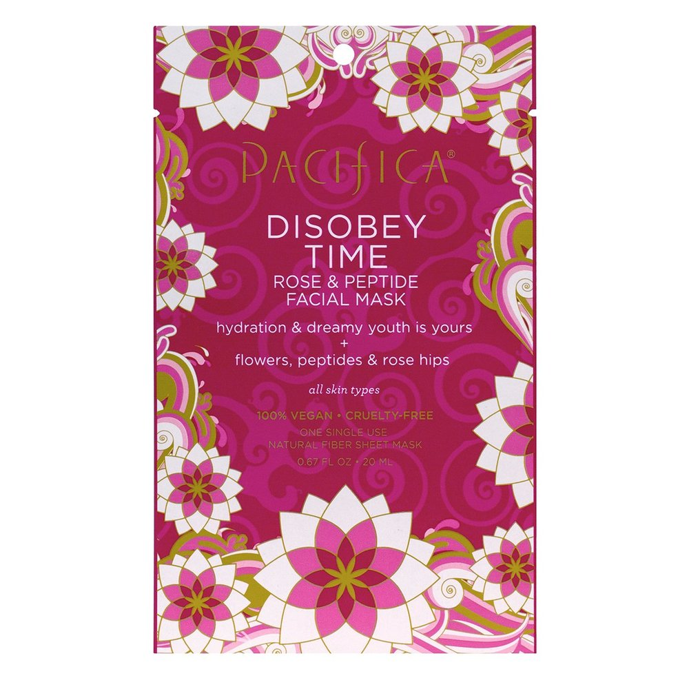 Disobey Time Facial Mask - $4This is like a facelift in a packet. I try to do at least one mask a week, sometimes two just for fun. They smell so good and leave my skin feeling like I have just had a 90 minute facial.