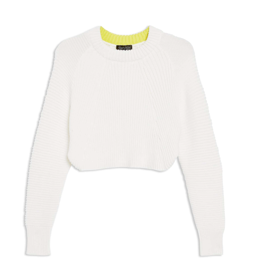 the sweater - Super Crop Sweater | TopShop