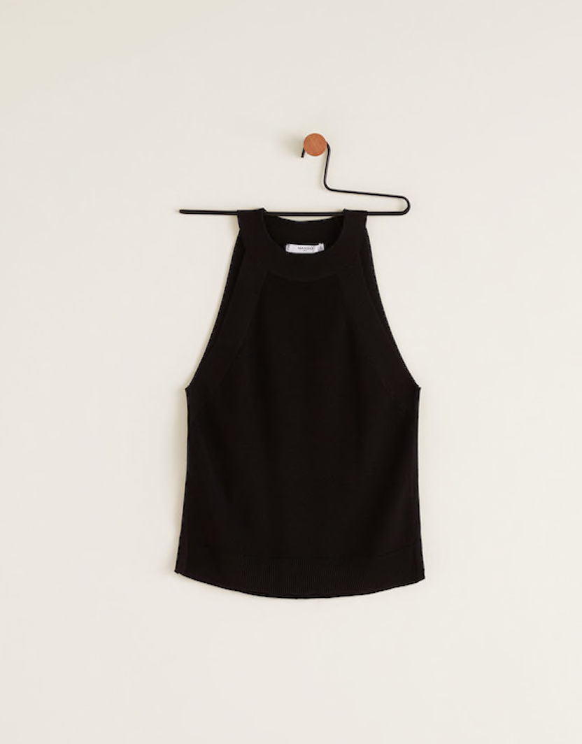 the top - Halter Neck Top | Mango