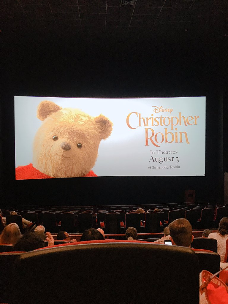 (Press Preview of Christopher Robin, courtesy of Disney Studios)