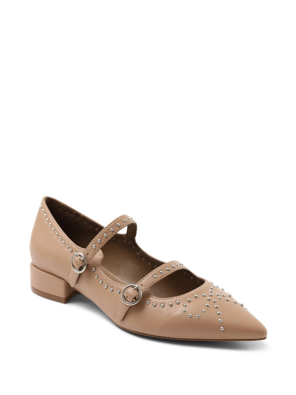 Nasser Studded Vegan Leather Pumps - $79 | $47.40 on sale, Kensie.