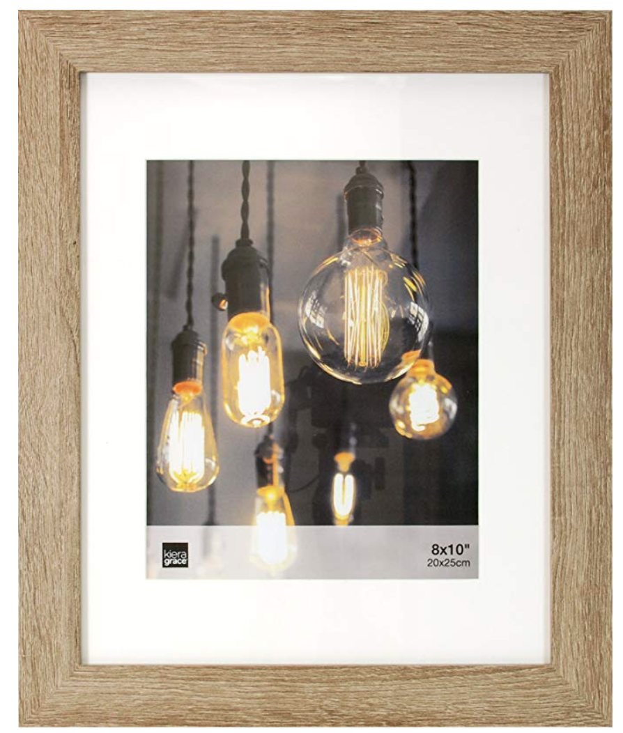 Wood Frames - Amazon $14.99I bought these awhile back and originally had them hanging in our bedroom, but we recently started redecorating our bedroom and I went a new route for the frames next to our bedside. I love finding new spaces to use items I already own.