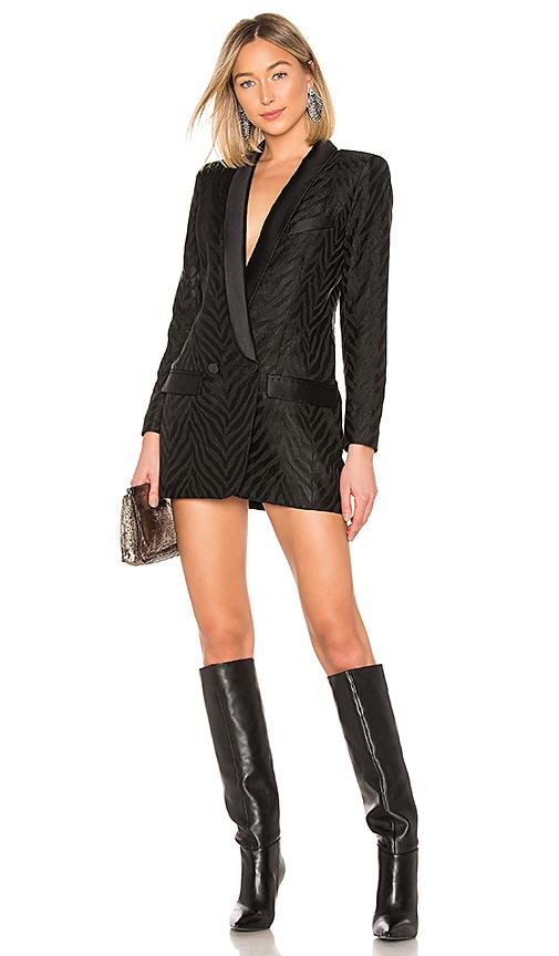 Tuxedo Blazer Dress - $795