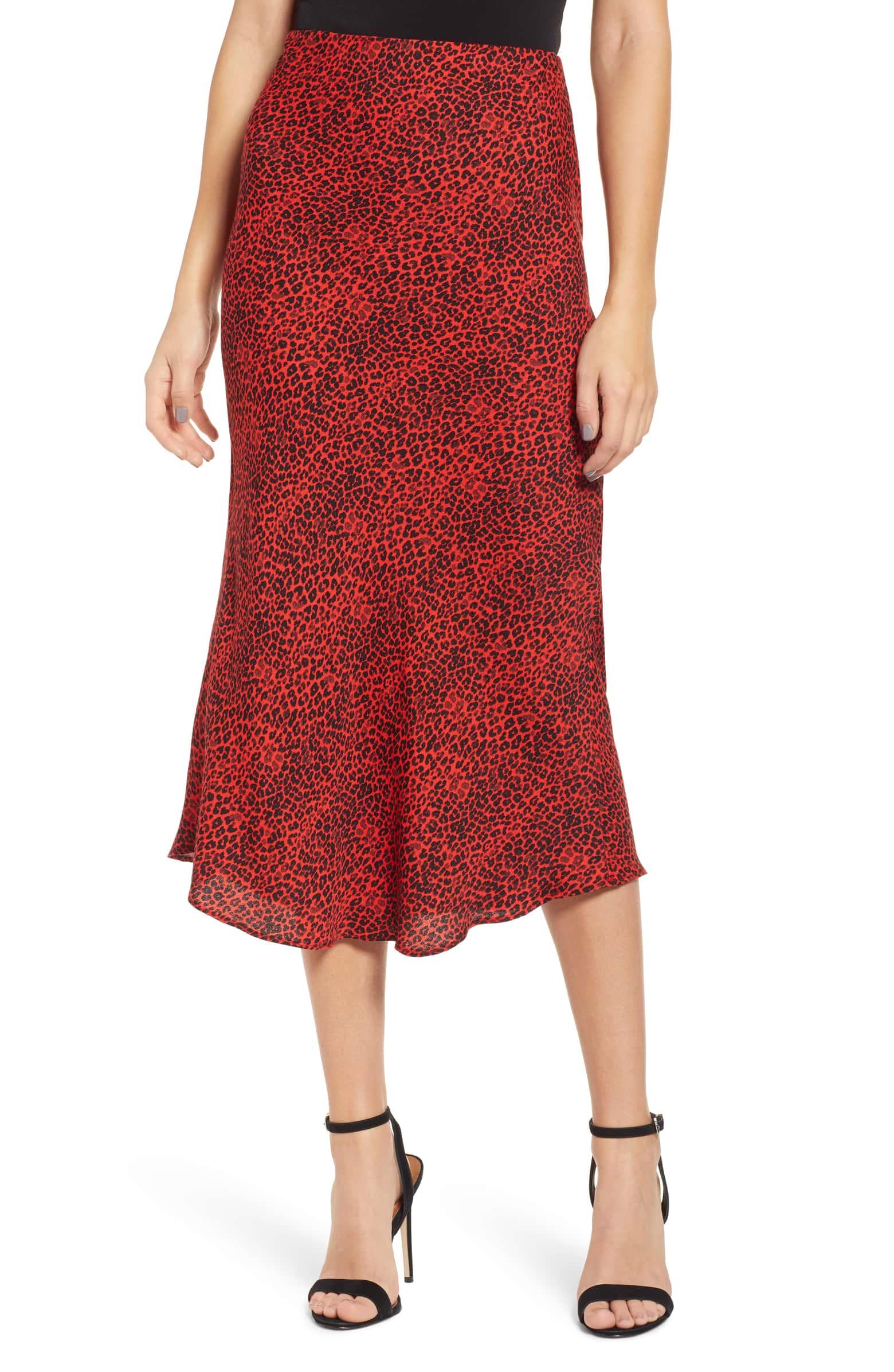 Brynne Print Midi Skirt - $78
