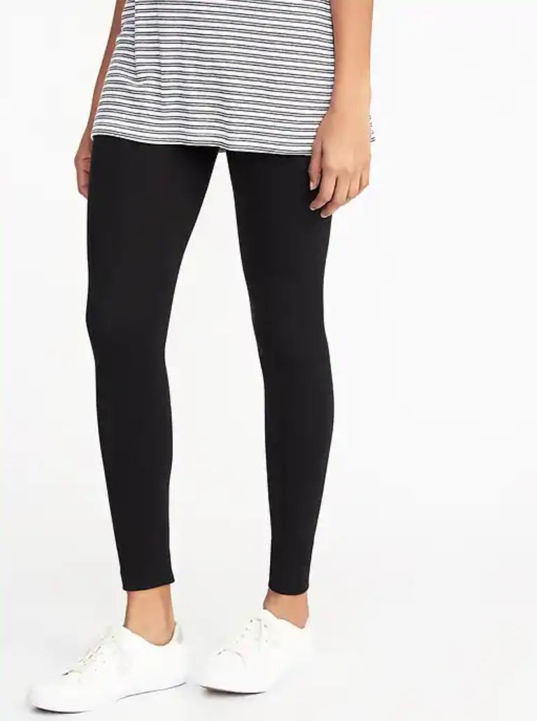 Basic Black Legging - $12.99