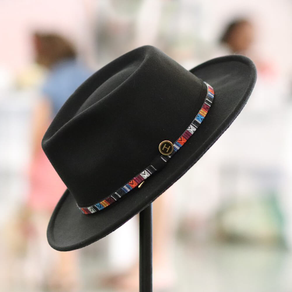 Nat Wide Brim Fedora - $65 | 100% Vegan