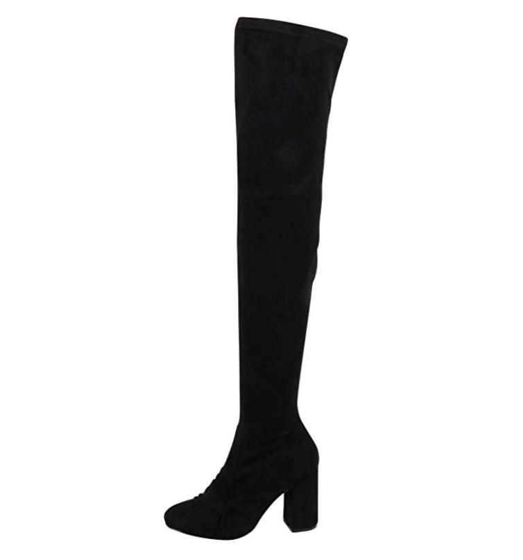 Vegan Thighhigh Boot - $35.75