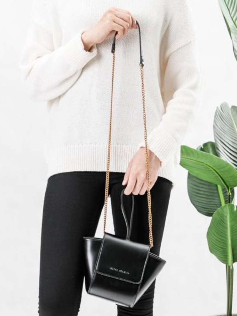 Melie Bianco - 100% VEGAN. Our Premium Vegan Leather has the look and feel of real leather, without the harmful ecological side effects of PVC.