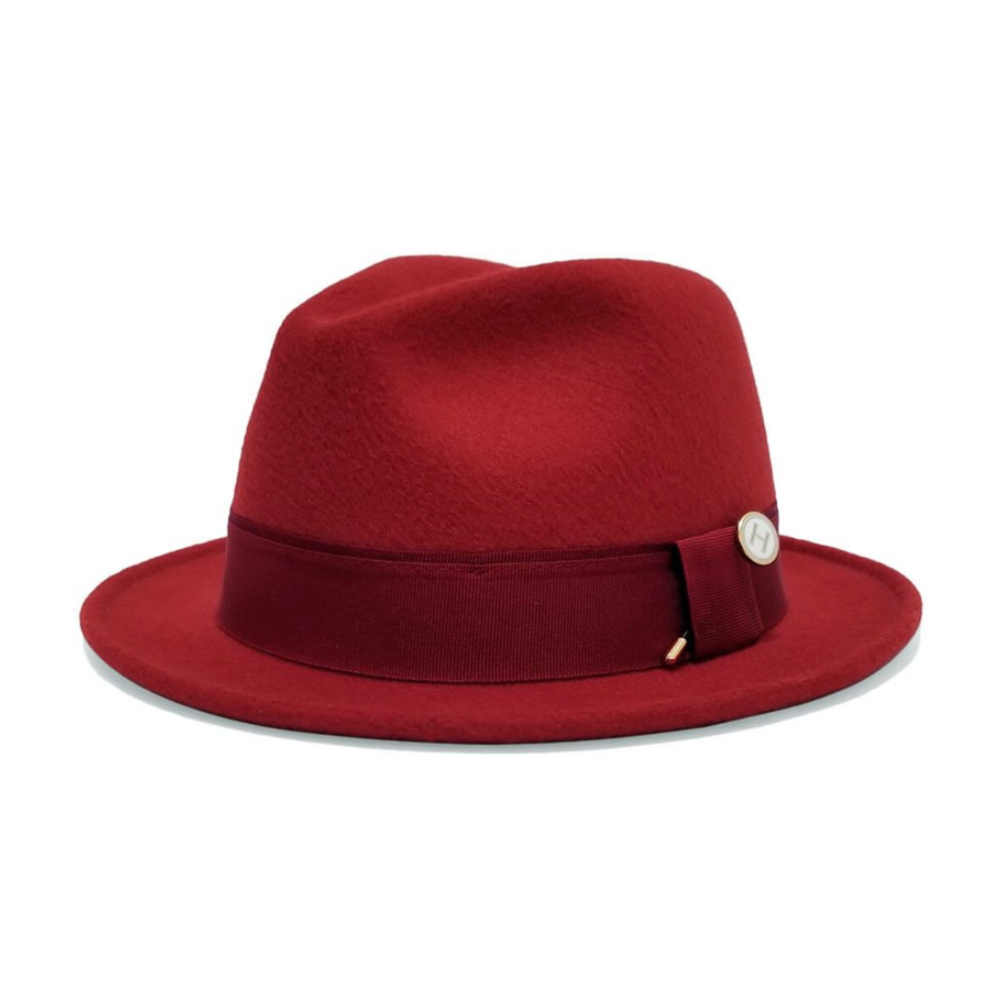 Rudy Pinch-Front Stingy-Brim Hat - $60 | 100% Vegan by Hatsmithe