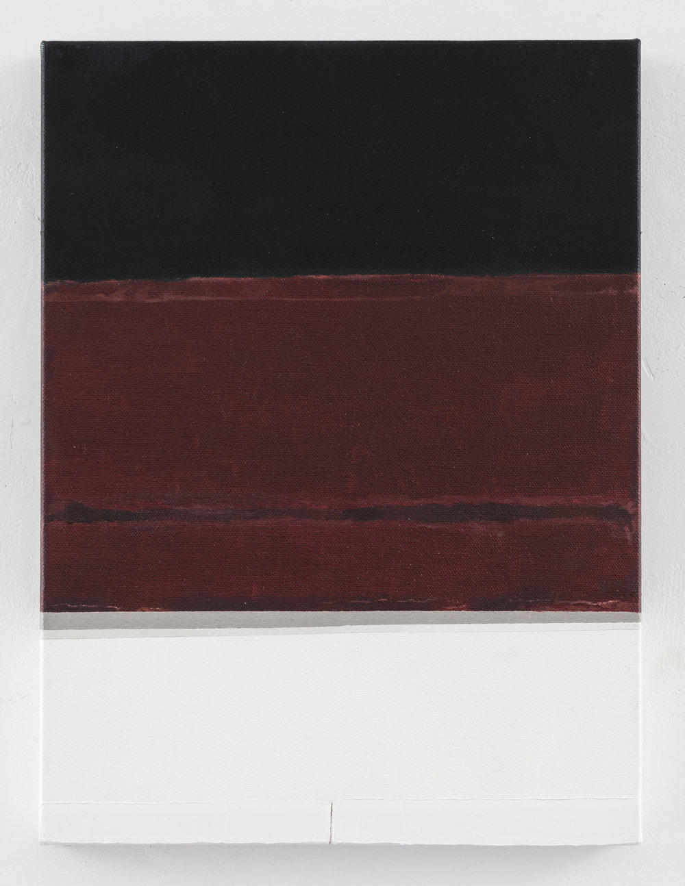 Rothko's window II, 2016, oil on canvas,11 x 15 inches