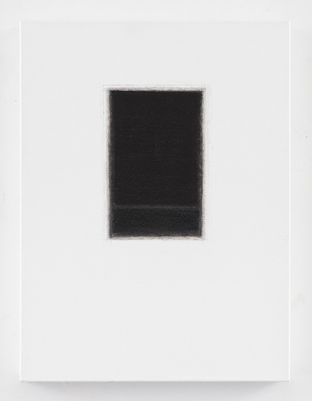 Rothko's window I, 2016, oil on canvas, 11 x 15 inches