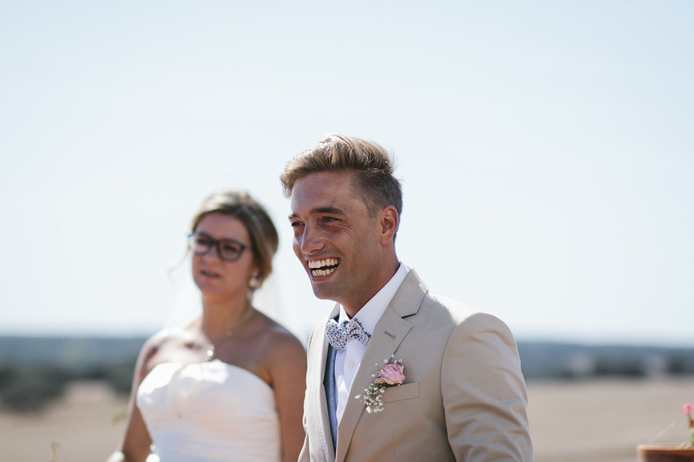 Bride and Groom portrait in Alentejo