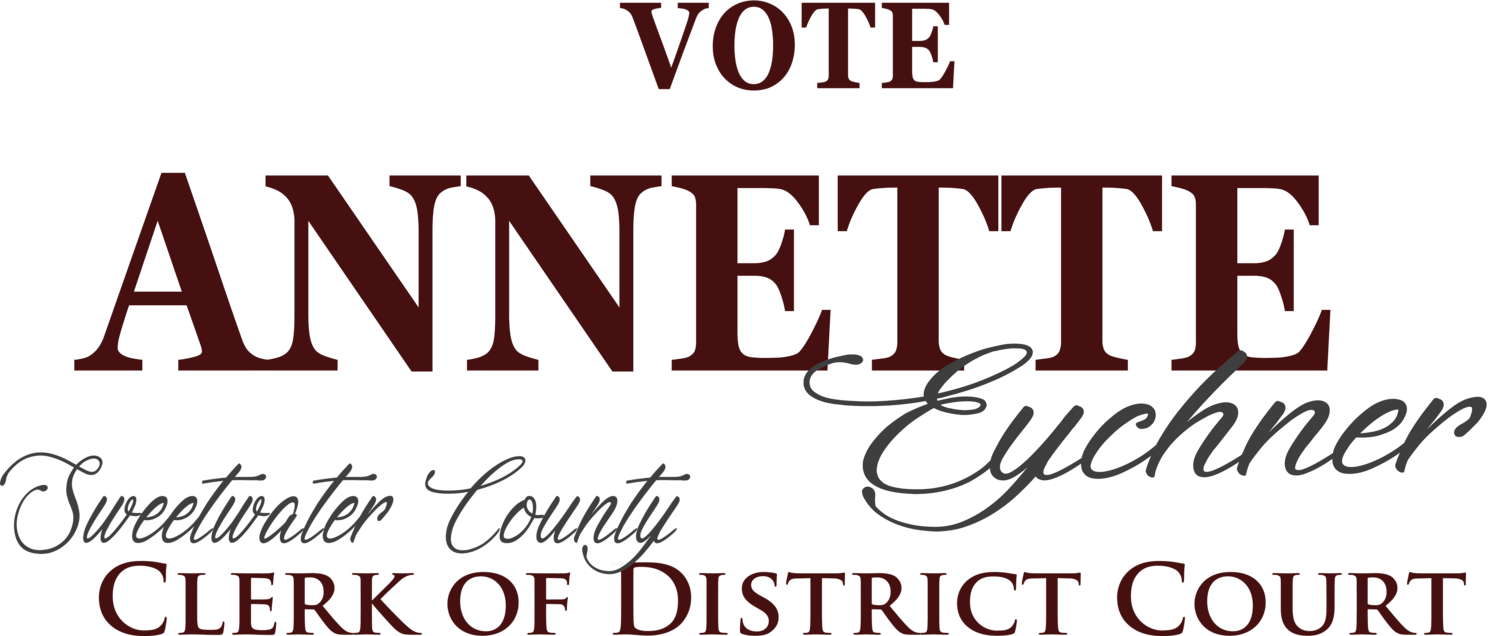 Annette Eychner For Sweetwater County District Court