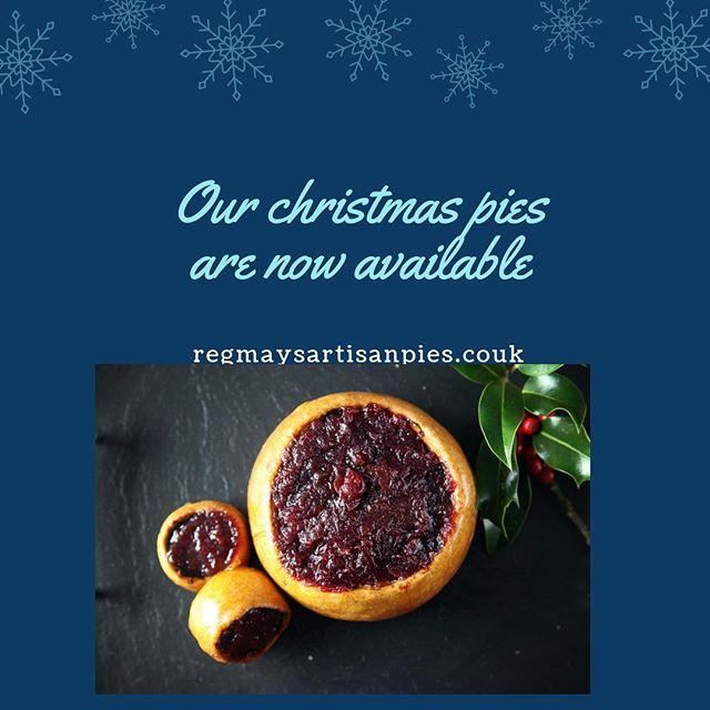 #regmayspies #regmaybutchers #dittonpriors #handmadeinshropshire #christmas