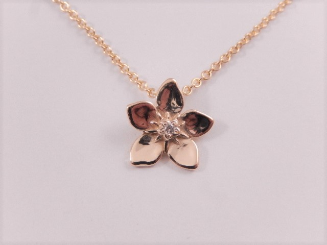 Necklace from the Forget Me Not range