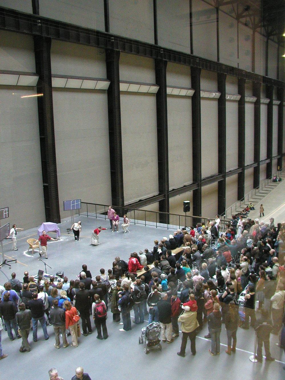 Kissed (2005) - Gantry Bridge, Tate Modern; Bonnie Bird Theatre, Trinity Laban