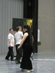 Refrain (2005) - Gantry Bridge, Tate Modern; Bonnie Bird Theatre, Trinity Laban