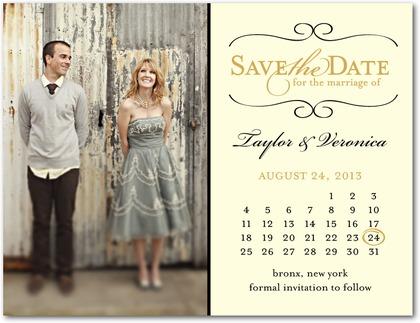 trendy mondays save the date options style elegance wedding
