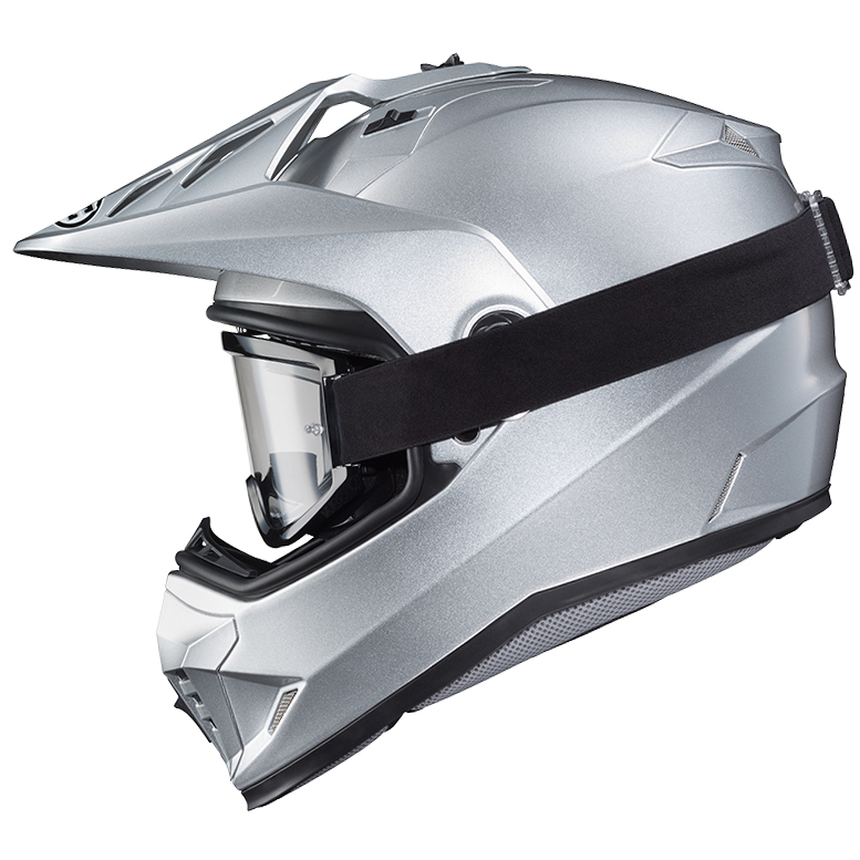 REMOVABLE SHIELD FOR DIRT (googles optional)