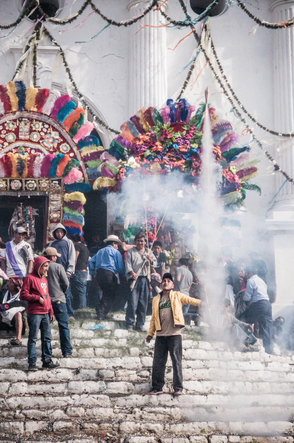 Fiesta de Santo Tomás Chichicastenango, Guatemala