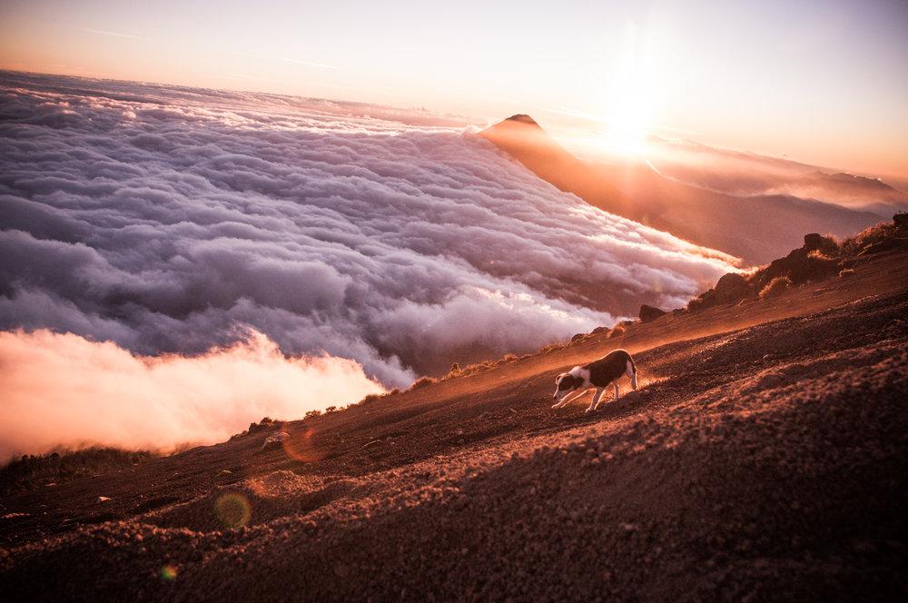 Summit of Volcan Acatenango, 3976m Guatemala
