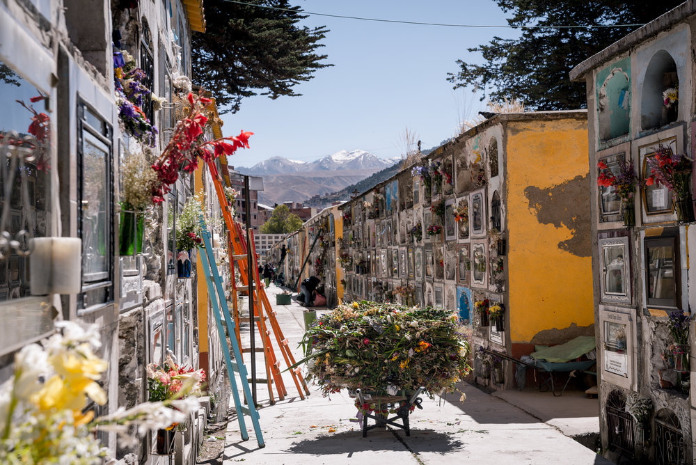 Cementerio Genera La Paz, Bolivia