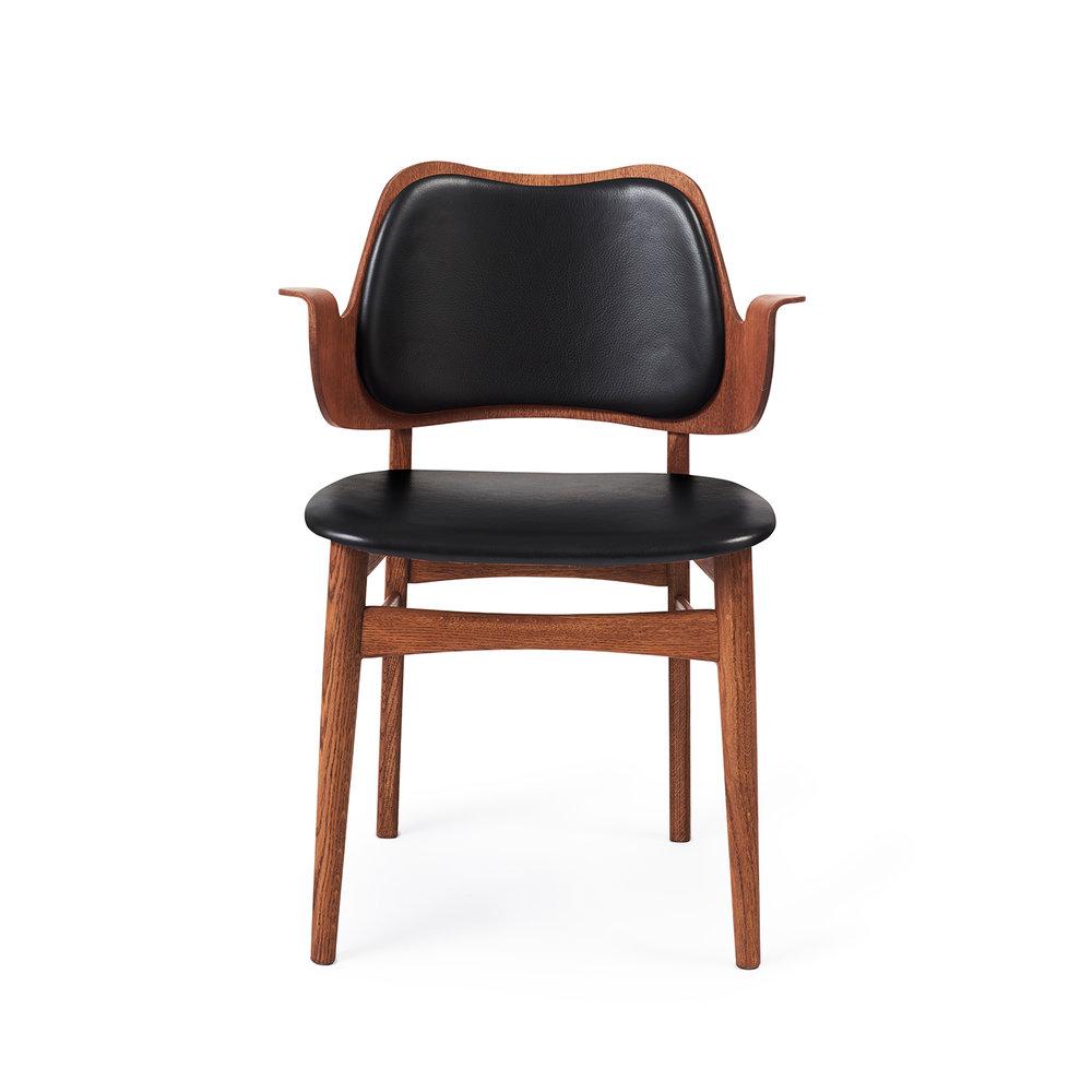 Gesture Chair - Teak Oiled Oak/Seat & Back Upholstery