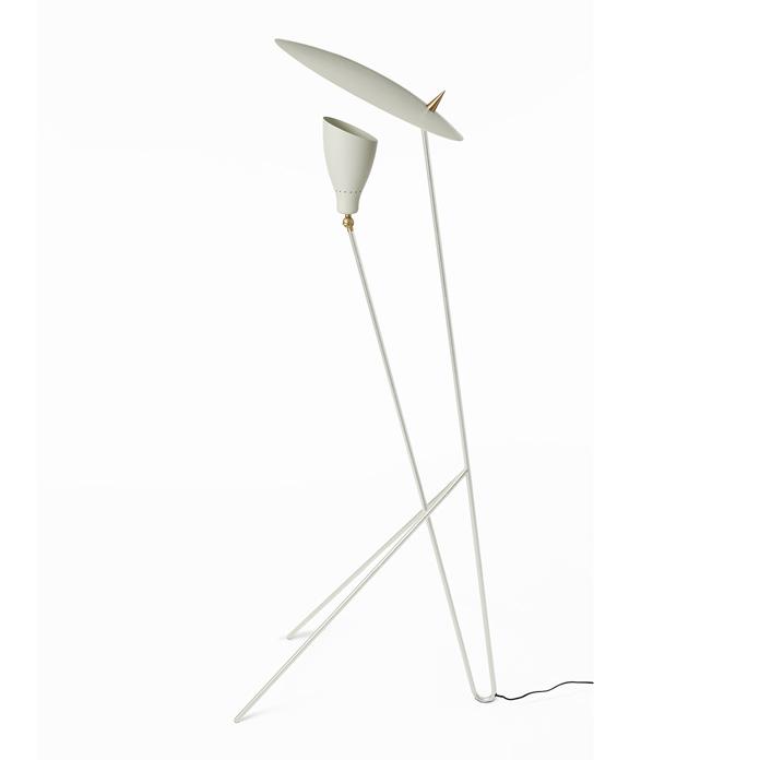 Warm Nordic Silhouette Floorlamp - Warm White