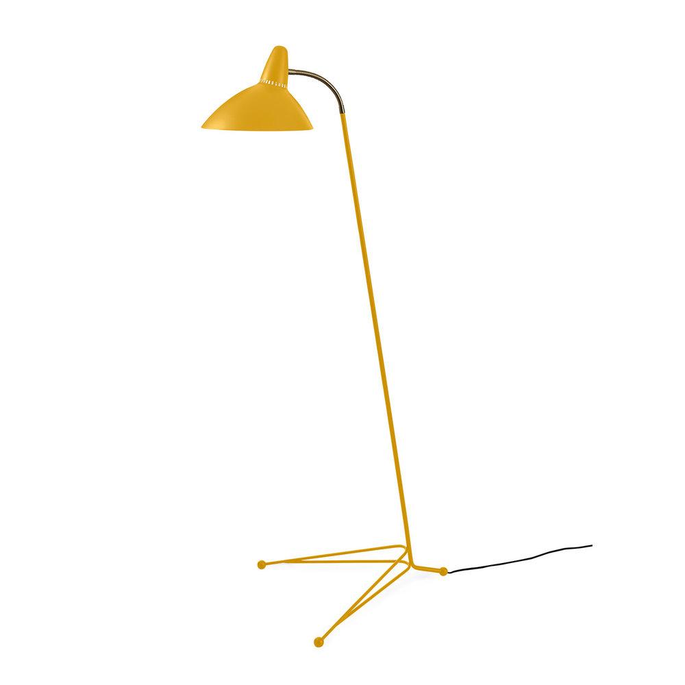 Warm Nordic Lightsome Floorlamp - Honey Yellow