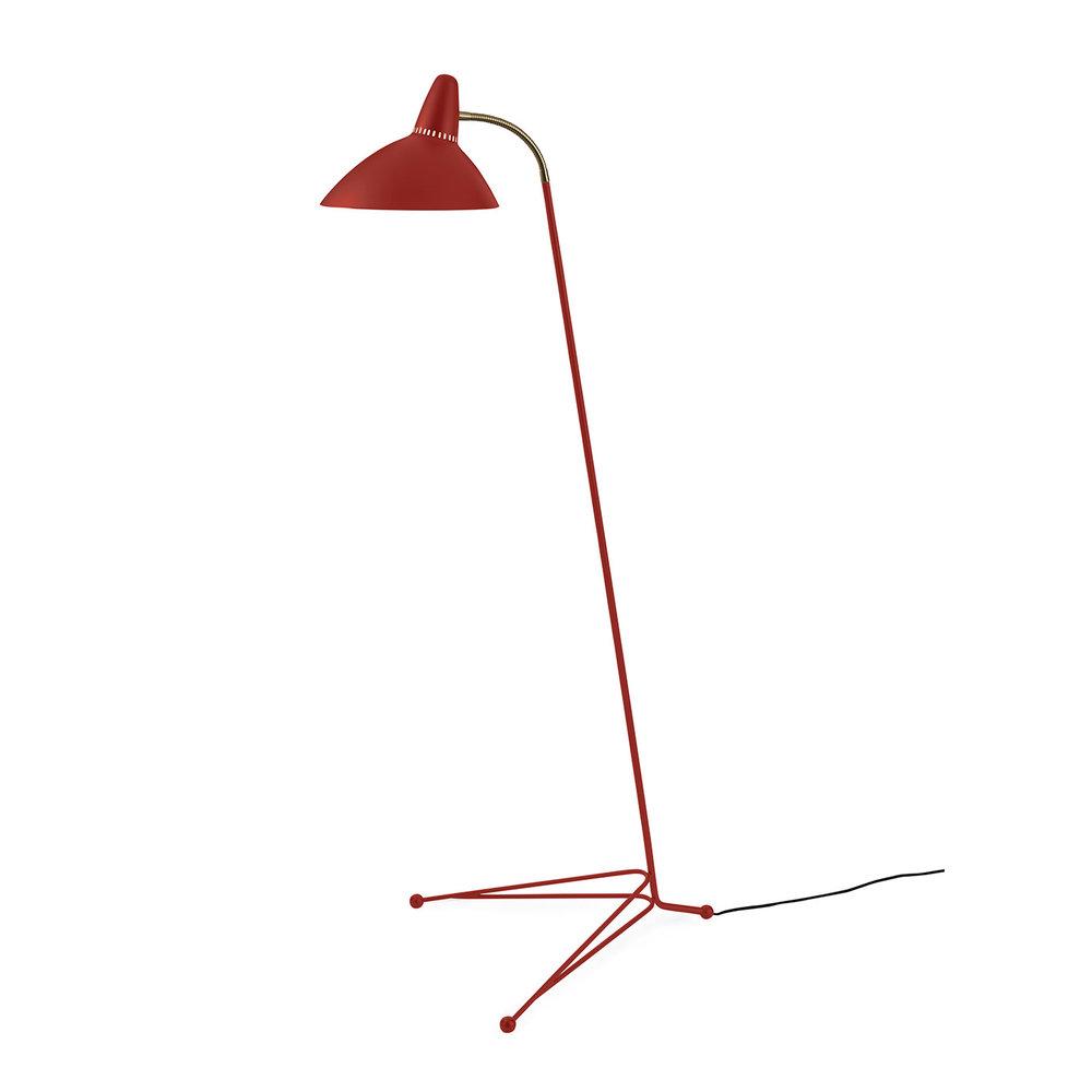 Warm Nordic Lightsome Floorlamp - Red Grape
