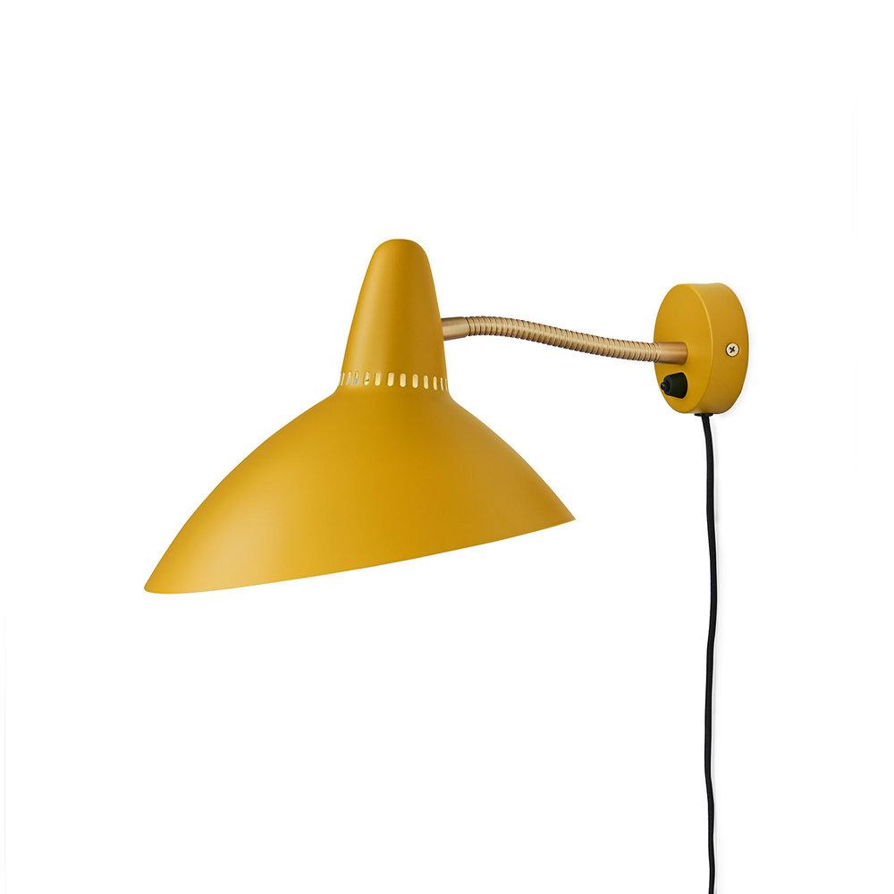 Warm Nordic Lightsome Wall - Honey Yellow