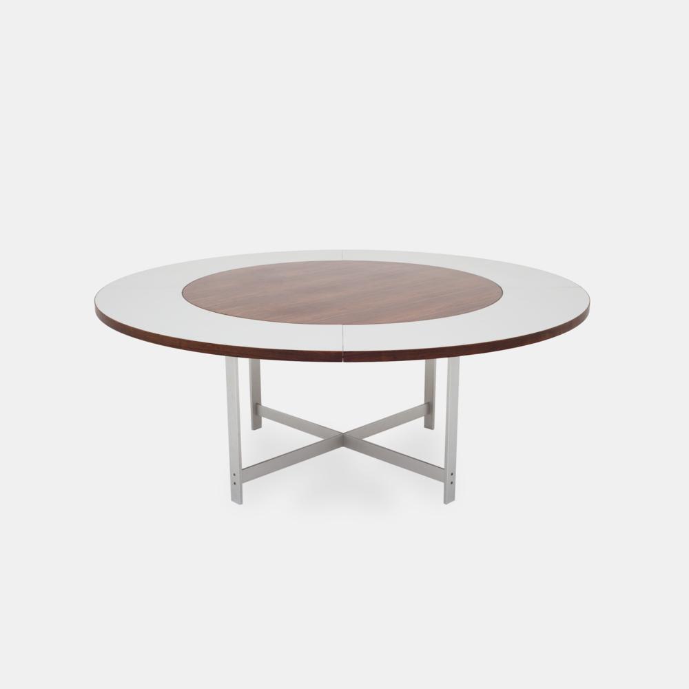 Klassik Studio JH Table Smoked Oak/Extension in Formica/Smoked Oak