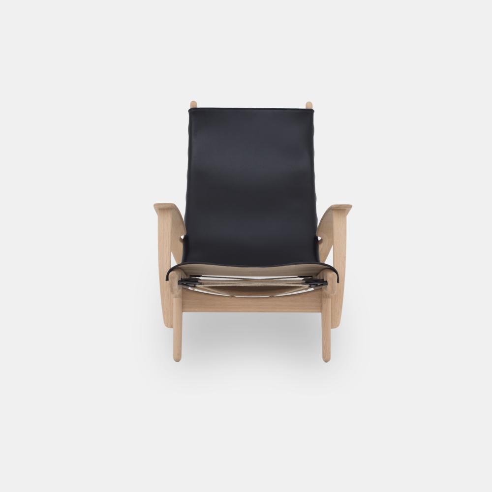 Klassik Studio King's Chair - Oak/Black