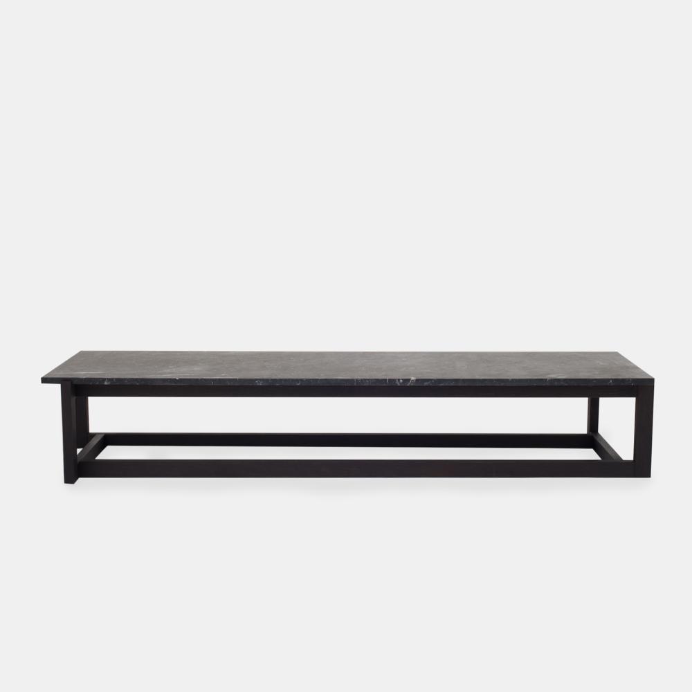 Klassik Studio Coffee Table - Black/Black Marble