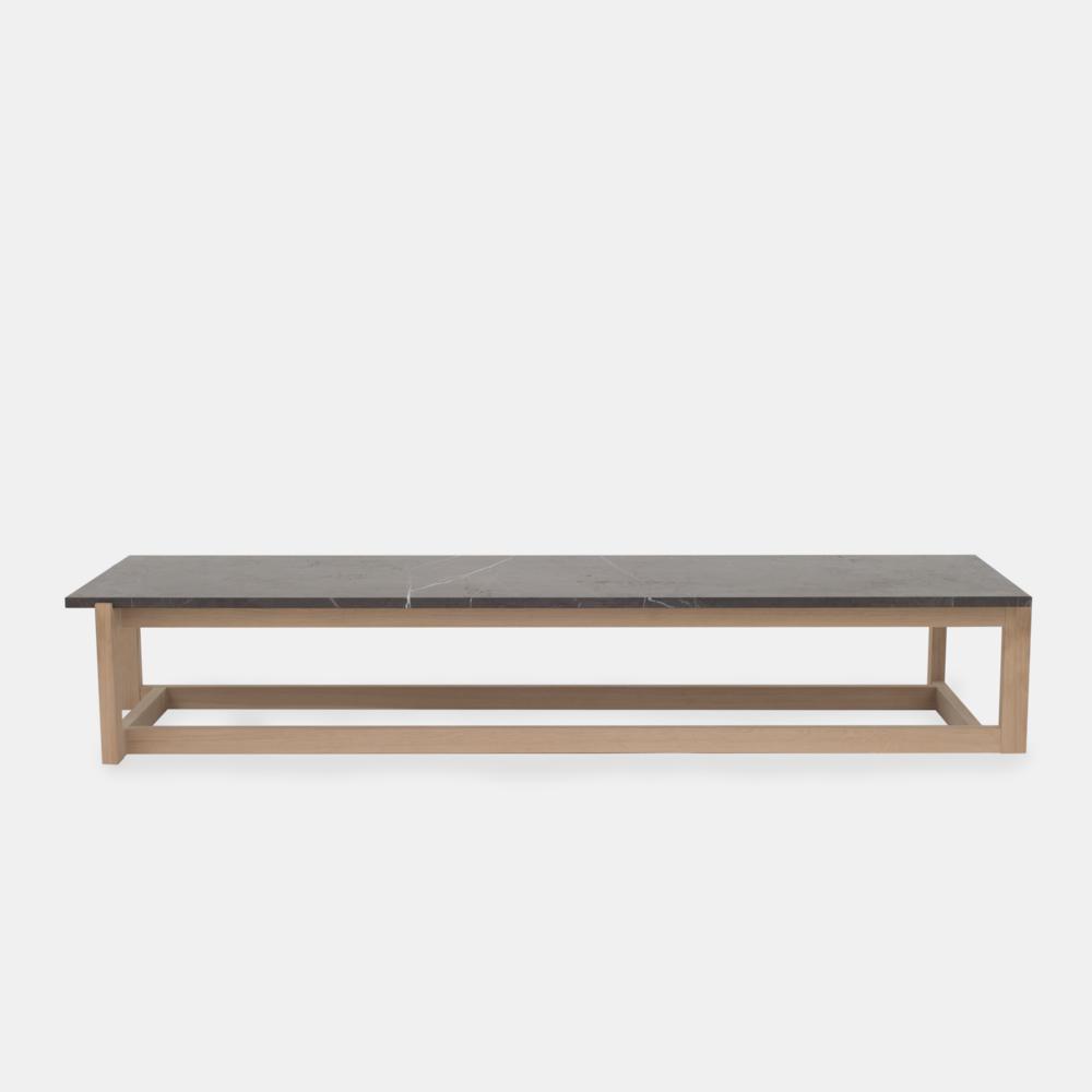 Klassik Studio Coffee Table - Oak/Grey Marble