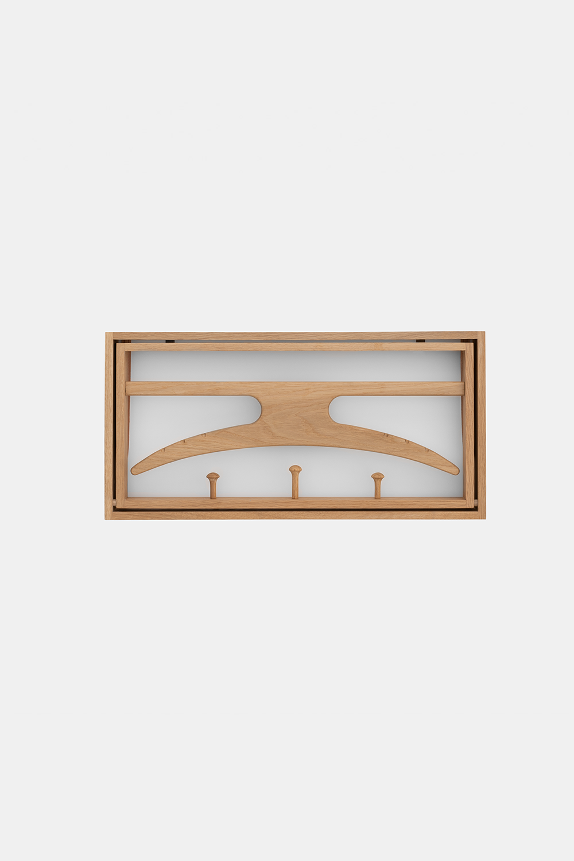 Klassik Studio Hanger - Oiled Oak/White
