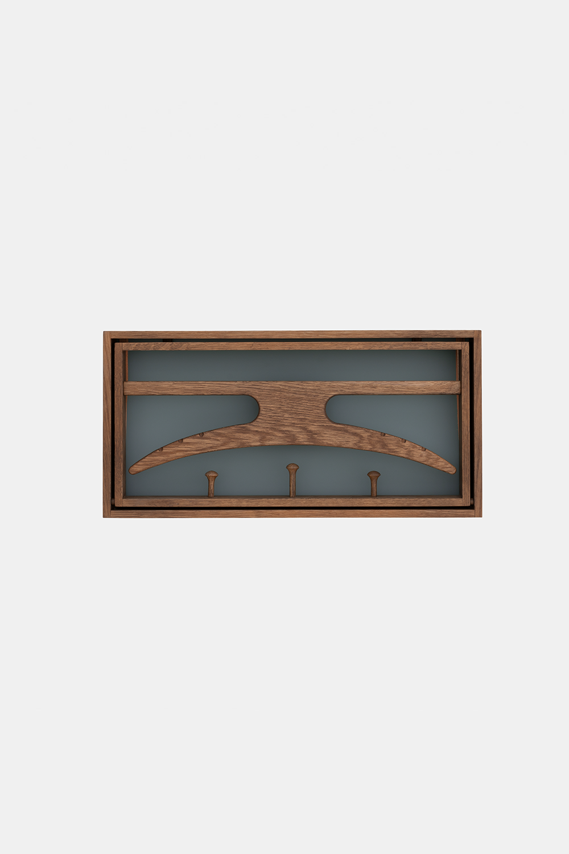 Klassik Studio Hanger - Smoked Oak/Blue